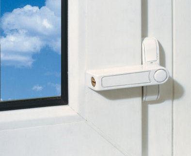 ABUS Fenstersicherung 2510 am Fenster