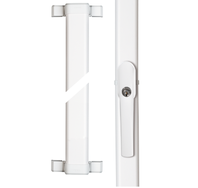 ABUS FOS 550 Fenster-Stangenschloss weiß