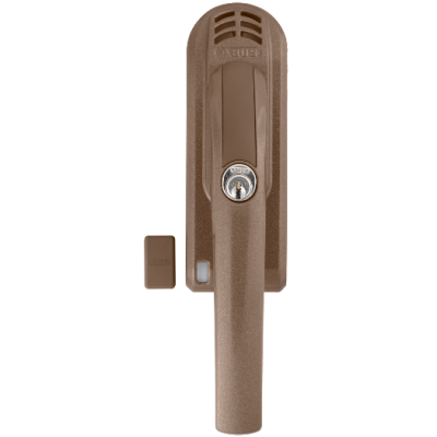 ABUS abschließbarer Fenstergriff FG300A Alarm braun