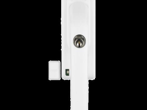 ABUS abschließbarer Fenstergriff FG300A mit Alarm weiß