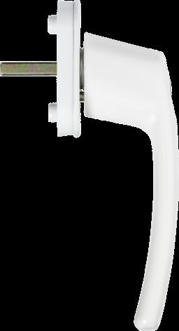 ABUS FG200 Abschließbarer Fenstergriff weiß