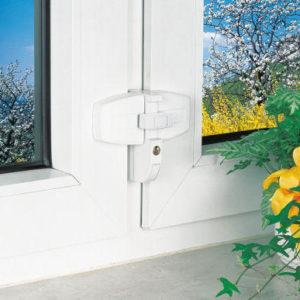 Doppelflügel-Fenstersicherung