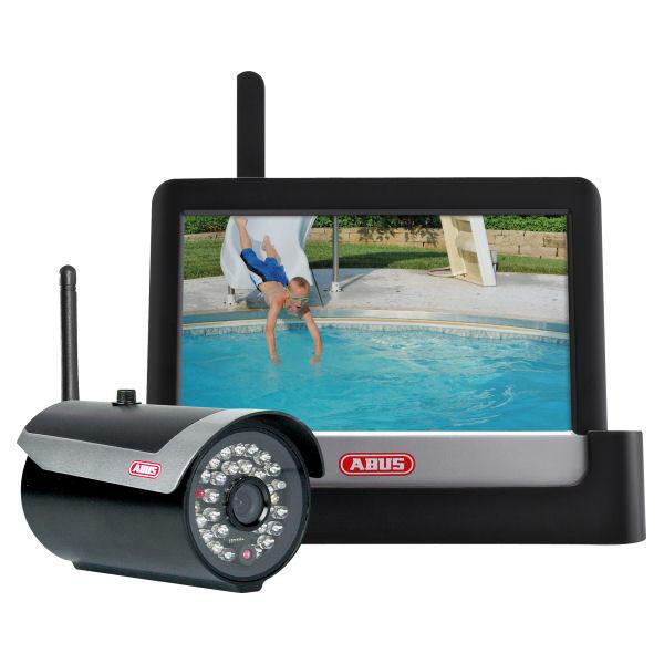 ABUS TVAC16000A Funk Heimvideo-Set 7 Videoüberwachung