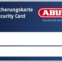 ABUS Sicherungskarte