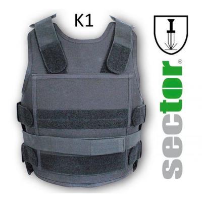 K1 zertifizierte Stichschutzweste Sector 2