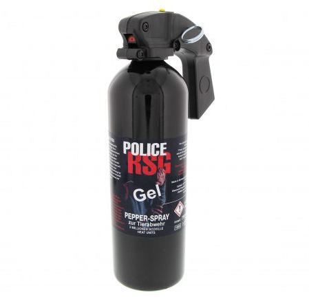 RSG - POLICE Gel Gel Pfefferspray 750 ml 3