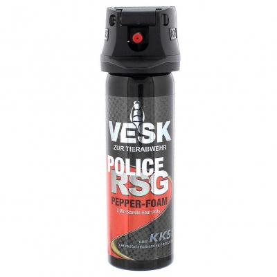 VESK RSG POLICE Foam Schaum Pfefferspray 63 ml