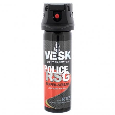 VESK RSG POLICE Stream Weitstrahl Pfefferspray 63 ml