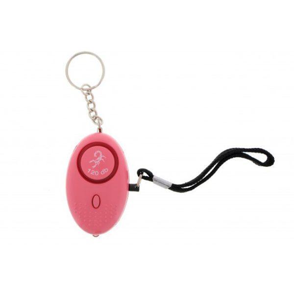 Mini Taschenalarm Rosa 120 db