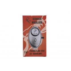 Scorpion Personalalarm Mini Silber 3