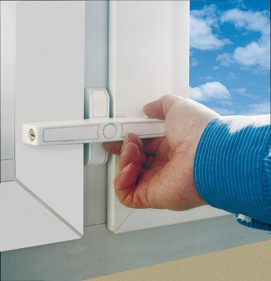 ABUS 2520 Doppelflügel-Fenstersicherung
