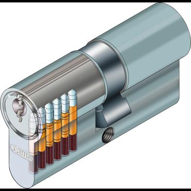 ABUS E20 Profilzylinder Schnittzeichnung