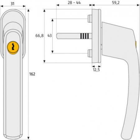 ABUS-FG210-Abschließbarer-Fenstergriff-Maße