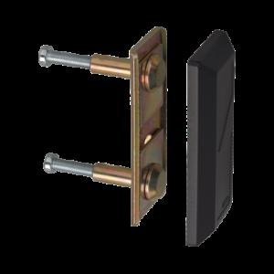 ABUS PV1820 Schliesskastenverbindungsplatte schwarz