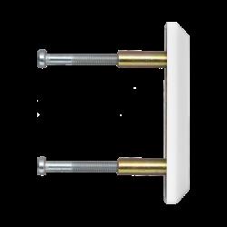 ABUS PV1820 Schliesskastenverbindungsplatte weiß