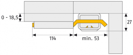 ABUS SW10 Fenster- undTürsicherung Maße