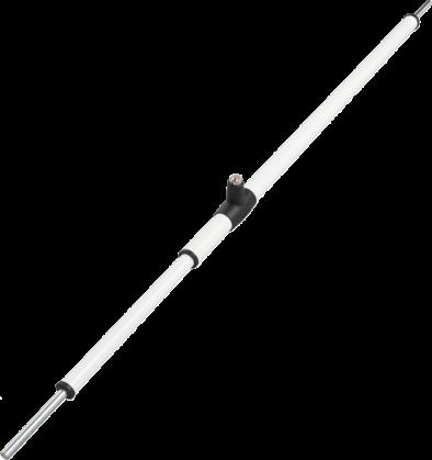 ABUS Tele-Z Teleskopstange weiß