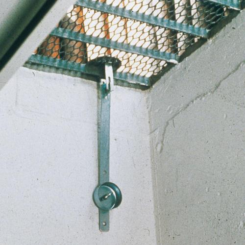 abus gs 20 Gitterrostsicherung und Kellerschachtsicherung