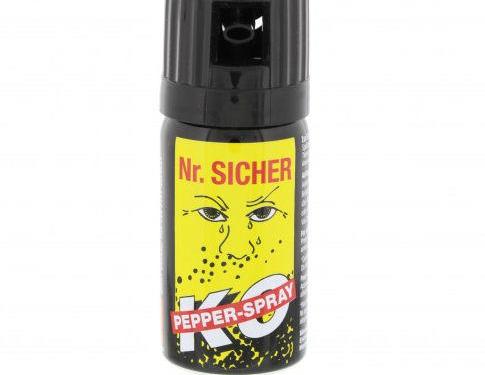 Nr. Sicher Pfefferspray 40 ml