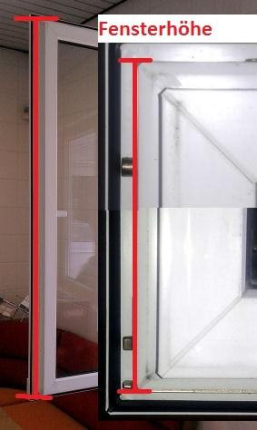 Fensterhöhe activPilot Winkhaus Pilzkopfverriegelung nachrüsten
