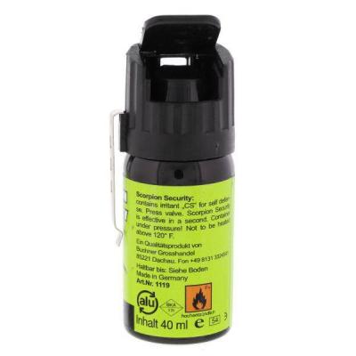 Scorpion Gasspray 40 ml Breitstrahl 3