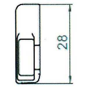 Sicherheitsschließblech SBS.H.9-28 WK2 LS/RS