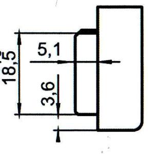 Sicherheitsschließblech SBS.K.192 PVC Winkhaus