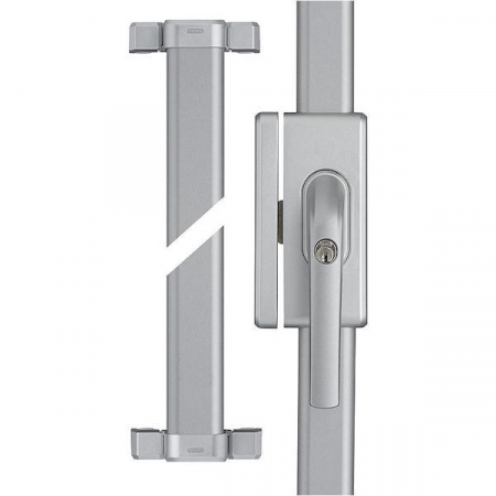 ABUS FOS 650 silber Fenster-Stangenschloss