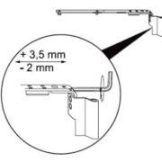 Scherenlager Justierung - Montageanleitung Pilzkopfverriegelung