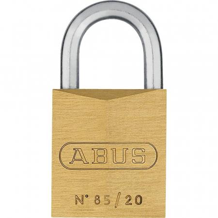 ABUS 85 Messing Vorhangschloss – 85/20