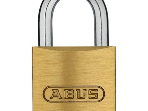 ABUS 45/20 Messing Vorhangschloss