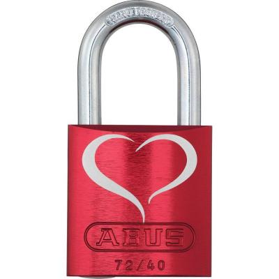 ABUS 72/40 Love Lock Vorhangschloss Motiv_2