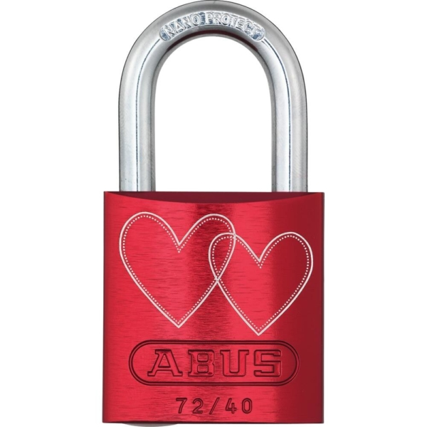 ABUS 72/40 Love Lock Vorhangschloss Motiv_4