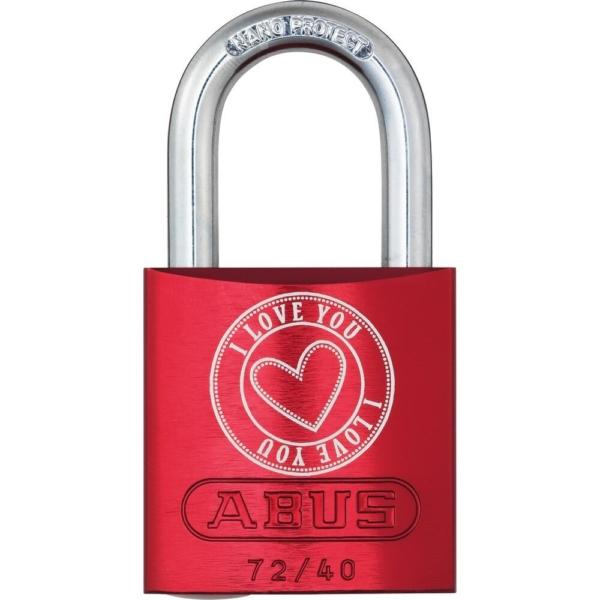 ABUS 72/40 Love Lock Vorhangschloss Motiv_5