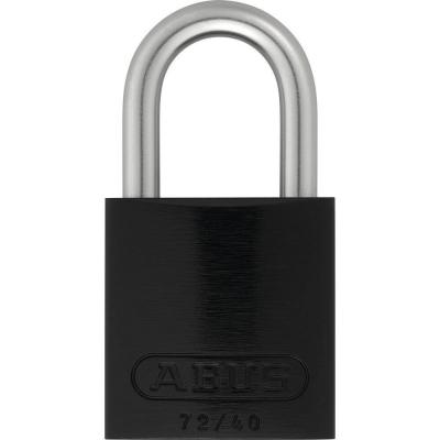 ABUS 72LL/40 Love Lock Titalium Vorhangschloss schwarz