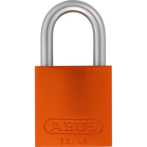 ABUS 72LL/40 Love Lock Titalium Vorhangschloss orange