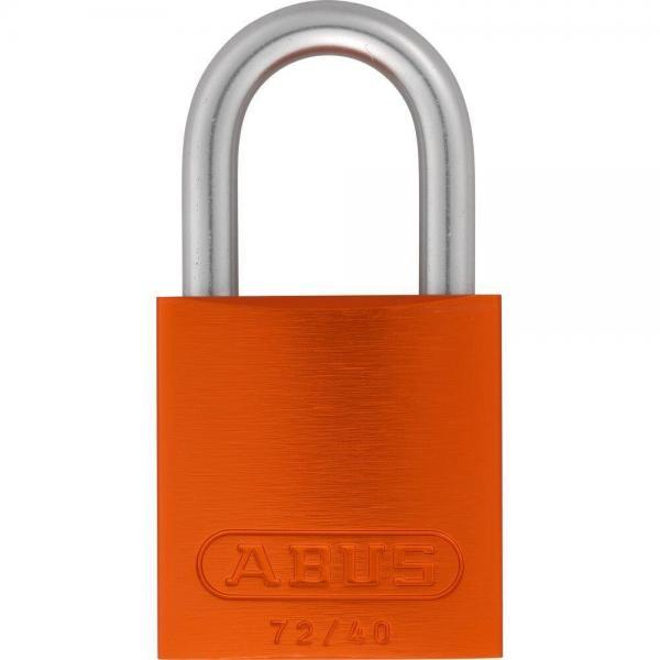 ABUS 72LL/40 Love Lock Titalium Vorhangschloss orange