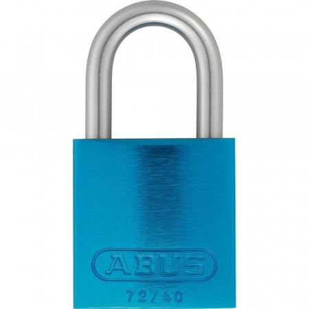 ABUS 72LL/40 Love Lock Titalium Vorhangschloss tuerkis