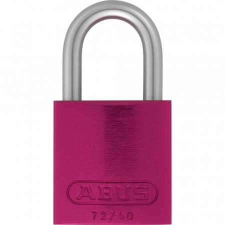 ABUS 72LL/40 Love Lock Titalium Vorhangschloss pink
