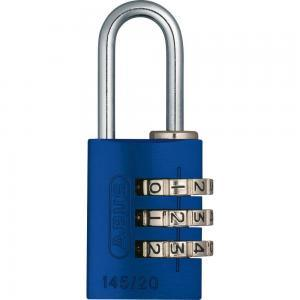 ABUS 145 Aluminium Zahlenschloss – 145/20 blau