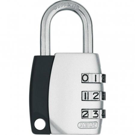 ABUS 155 Zahlenschloss – 155/30 - silber