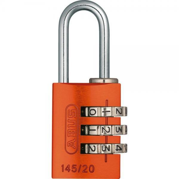 ABUS 145 Aluminium Zahlenschloss – 145/20 orange