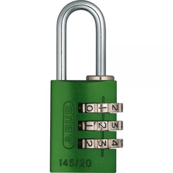 ABUS 145 Aluminium Zahlenschloss – 145/20 gruen
