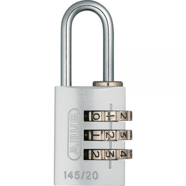 ABUS 145 Aluminium Zahlenschloss – 145/20 silber