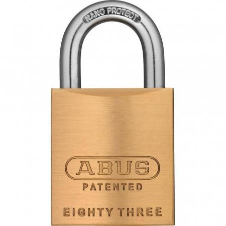 ABUS 83 Messing Vorhangschloss - 83/45