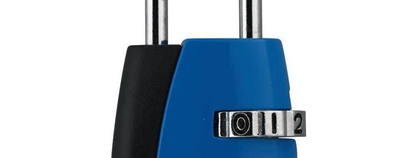 ABUS 155 Zahlenschloss – 155/20 - blau