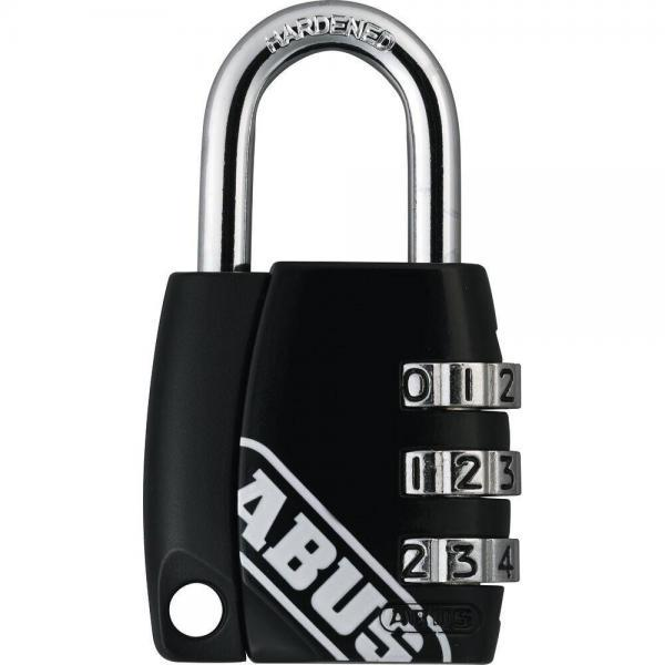ABUS 155 Zahlenschloss – 155/30 - schwarz