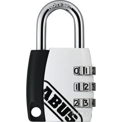 ABUS 155 Zahlenschloss – 155/30 - weiss