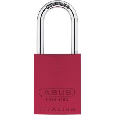 ABUS 83 Titalium Vorhangschloss - 83AL/40 rot