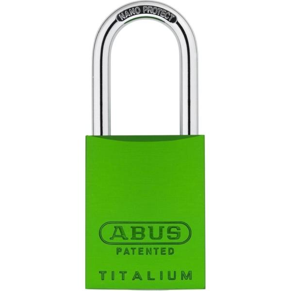 ABUS 83 Titalium Vorhangschloss - 83AL/40 gruen